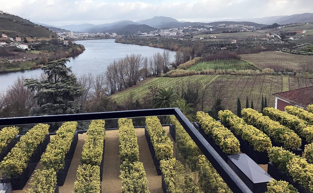 vallee du douro vue depuis la reception