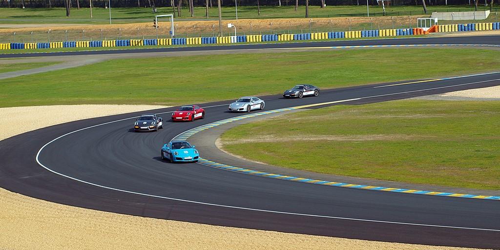 Porsche circuit Bugatti
