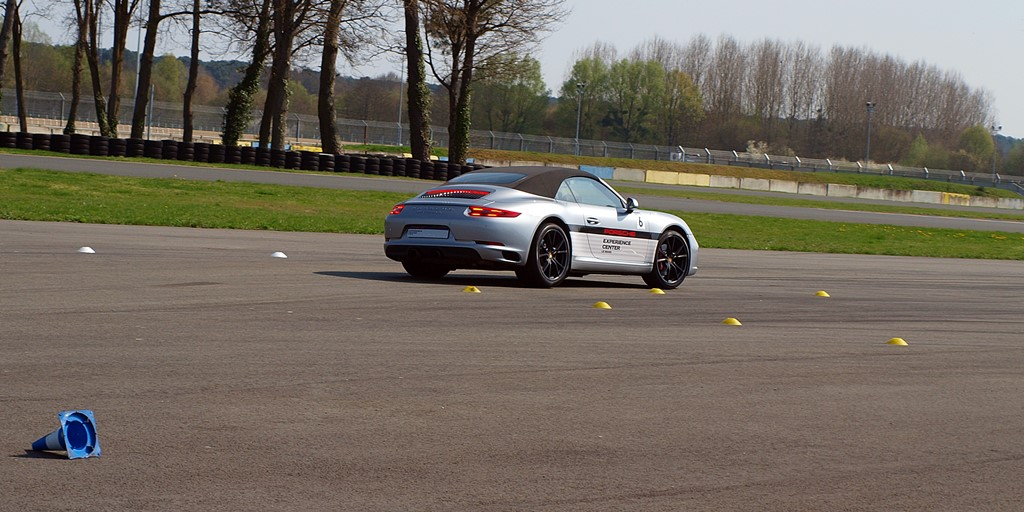 Porsche Experience Center - porsche dynamic area