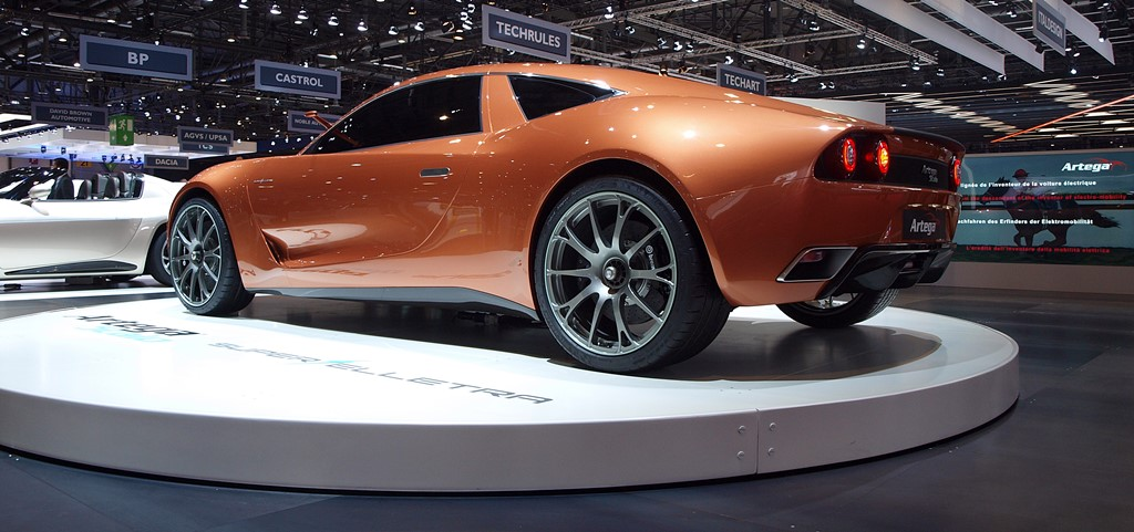 supercars Artega Scalo Superelletra