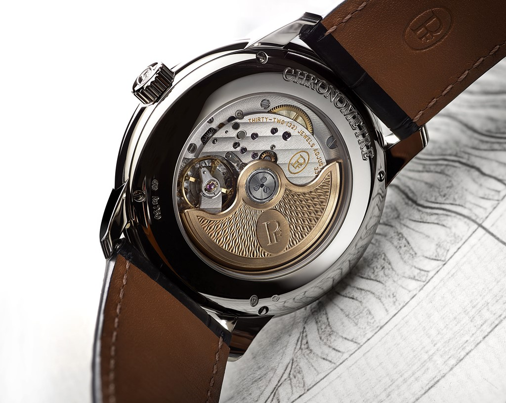toric chronometre detail mouvement