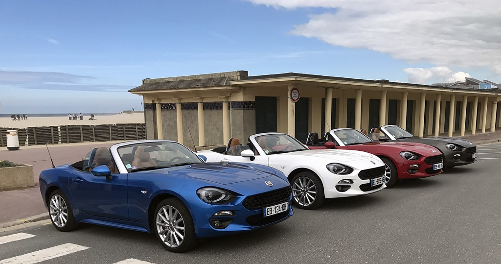 fiat 124 spider deauville les planches