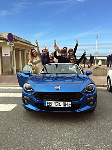fiat 124 spider familiale