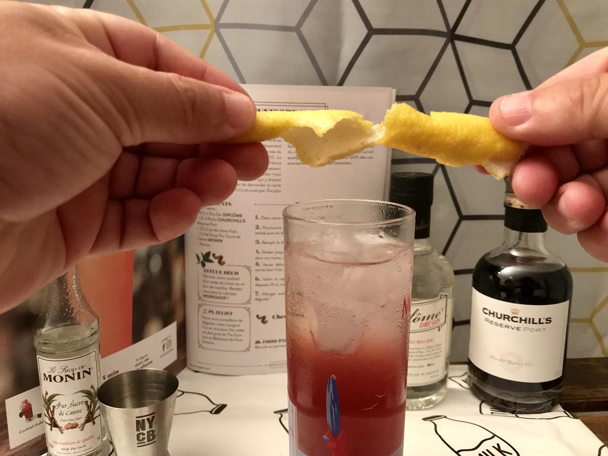 cocktail box lemon twist