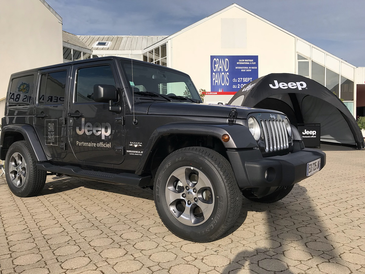 grand pavois jeep wrangler partenaire officiel