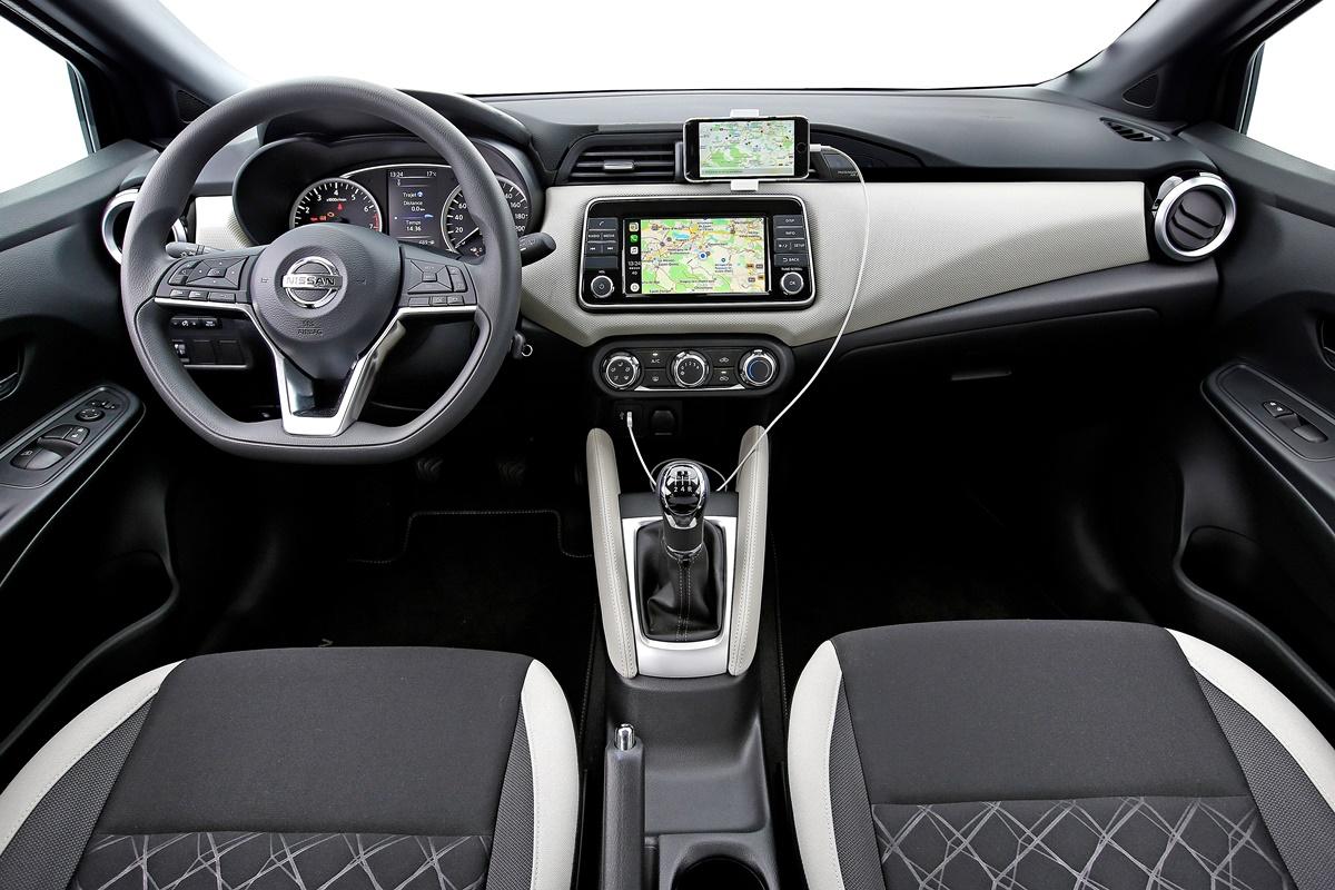Nissan Micra intérieur