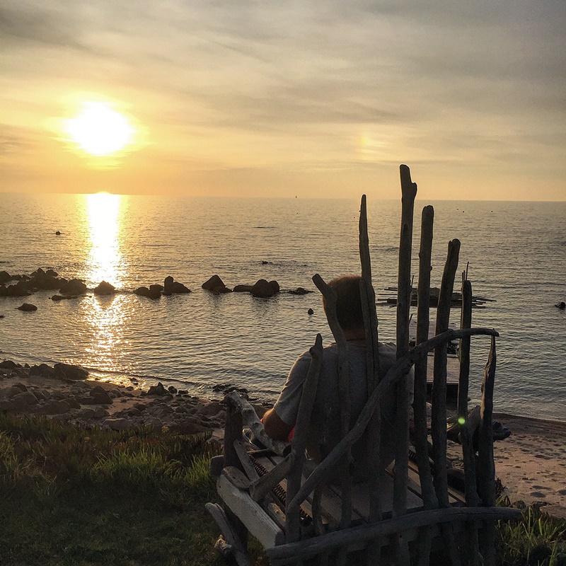 C3 aircross coucher soleil domaine de saparella