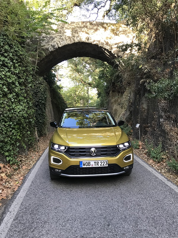 vw t-roc tunnel