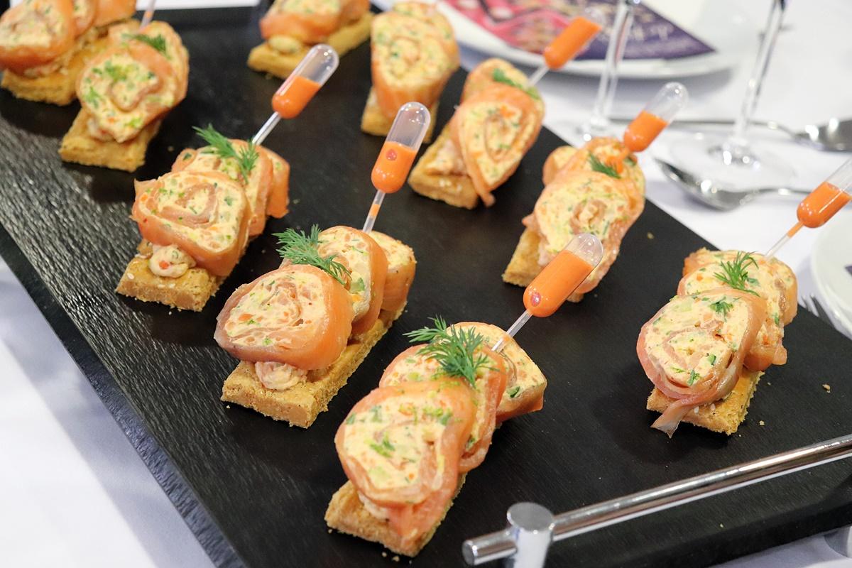 brossard traiteur - Fraicheur de saumon