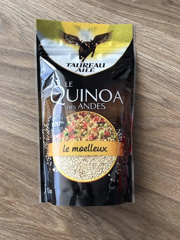 degustabox quinoa taureau aile
