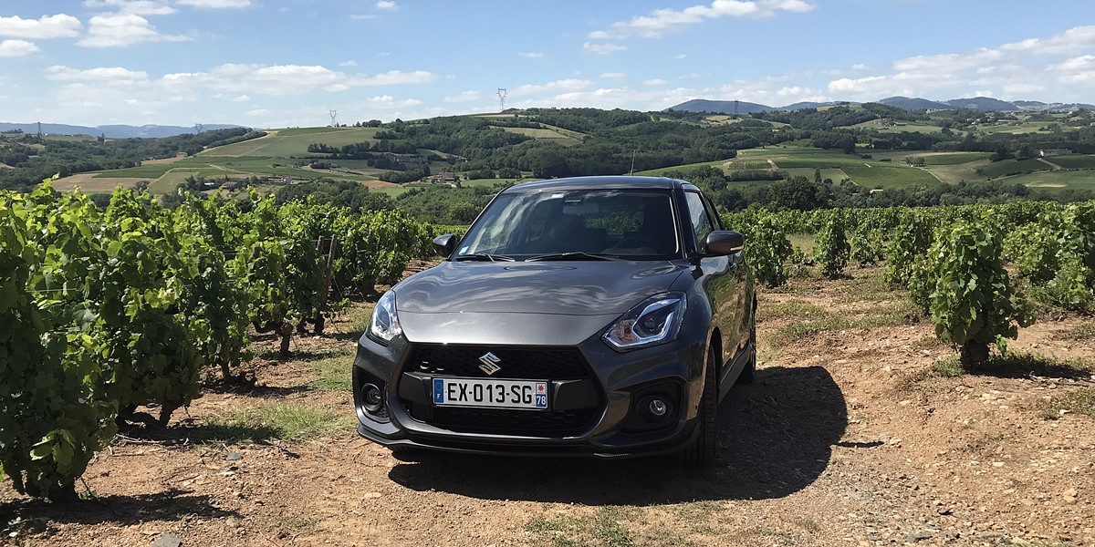 suzuki swift sport vignes
