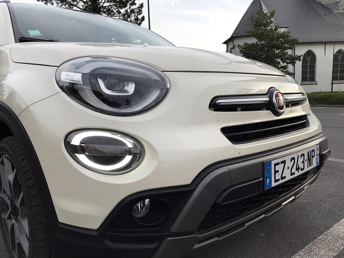Fiat 500X - nouveau design avant