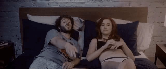 lil dicky pillow talk gif lildicky pillowtalk discover share gifs