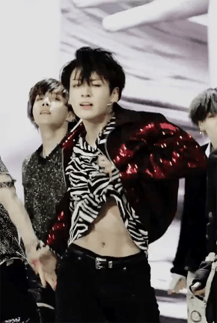 Bts Jungkook Abs Fake Love Bts Jungkook Showing Abs On Performance Fake Love Muscle Workout Evolution 2013 2018 Train 4 Gains This Is One Of The Rare Moments Where Jungkook Flaunts His Abs