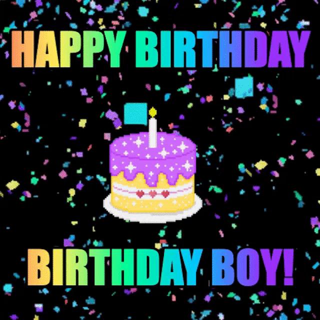 Happy Birthday Images Boy Gifs Tenor