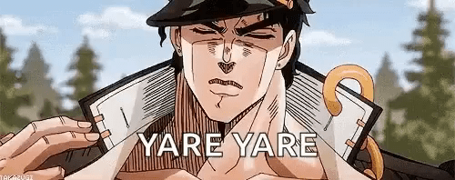 Image result for yare yare