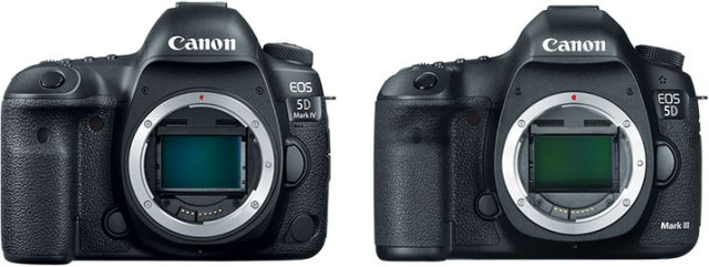 Should I get the Canon EOS 5D Mark IV or the 5D Mark III?