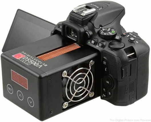 Italian Company Makes a Cooled Nikon D5500 for Astrophotography