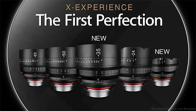 Samyang to Release 14mm & 35mm XEEN Lenses