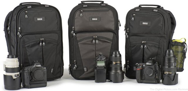 "Think Tank Photo Upgrades Shape Shifter Expandable Backpacks and Adds ""Naked"" Option"