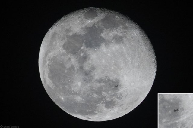 ISS Lunar Transit – Feb. 1, 2018 (Savannah, GA)