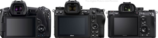 Canon EOS R Nikon Z 6, Z 7, and Sony a7 III, a7R III, a9 Comparison