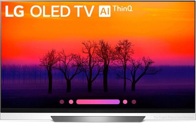 """LG E8PUA 55"""" Class HDR UHD Smart OLED TV"""