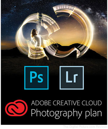Hot Deal: 12-Months of the Adobe CC Photography Plan - $  94.95 (Reg. $  119.95)
