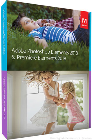 Adobe Photoshop and Premiere Elements 18 (DVD)