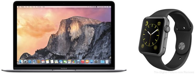 Save $  300.00 on a MacBook & $  100.00 on the Apple Watch