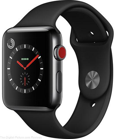 Apple Watch Series 3 42mm Smartwatch, Space Black