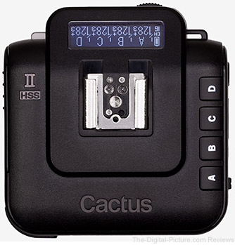 Cactus Announces V6 II & IIs Flash Transceivers