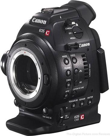 Canon EOS C100 Cinema EOS Camera - $  1,799.00 Shipped (Reg. $  3,999.00)