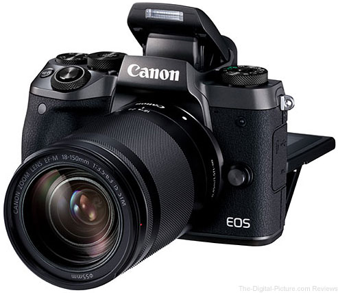 Canon EOS M5 with EF-M 18-150mm f/3.5-6.3 IS STM Lens