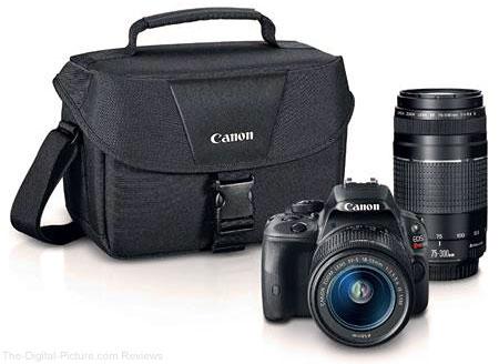 Canon EOS Rebel SL1 & 2 Lenses Kit
