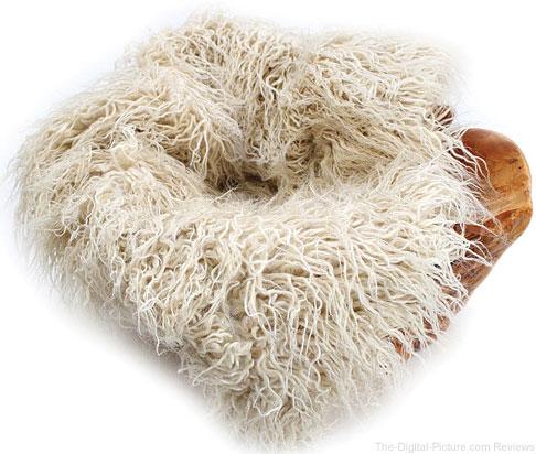 "Custom Photo Props Faux Fur Newborn Photo Prop (Eggshell Curly Sheep, 20 x 32"") - $  19.95 (Reg. $  27.95)"