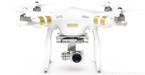 DJI Phantom 3 Professional Quadcopter with Extra Battery - $  898.99 Shipped