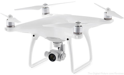 DJI Phantom 4 Quadcopter - $  899.00 Shipped (Reg. $  1,199.00)