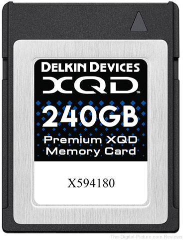 Delkin Devices 240GB Premium XQD Memory Card