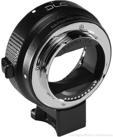 Dot Line Canon EF/EF-S Lens to Sony E-Mount Camera Electronic Lens Adapter