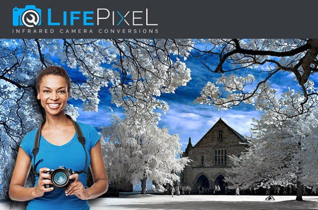 Save $  50.00 and Receive Priority Processing on IR Conversions at LifePixel
