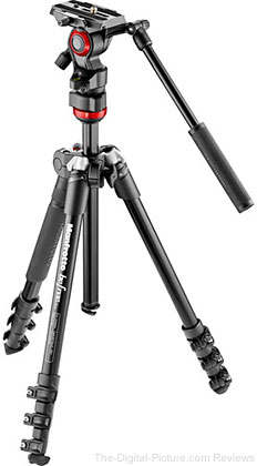 Manfrotto Launches Befree Live Video Tripod