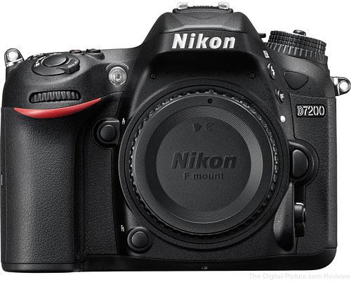 Refurbished Nikon D7200 - $  769.99 Shipped (Compare at $  1,096.95 New)