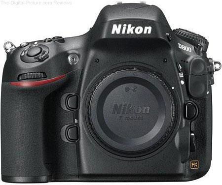 Refurb. Nikon D800E DSLR Camera - $  1,969.00 Shipped