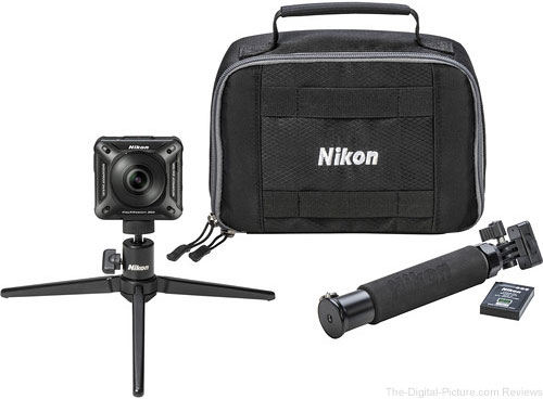 Preorder a Nikon KeyMission 360 or 170, Get a Free Accessory Pack ($  149.95 Value)