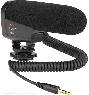Polsen VM-150 DSLR Video Microphone