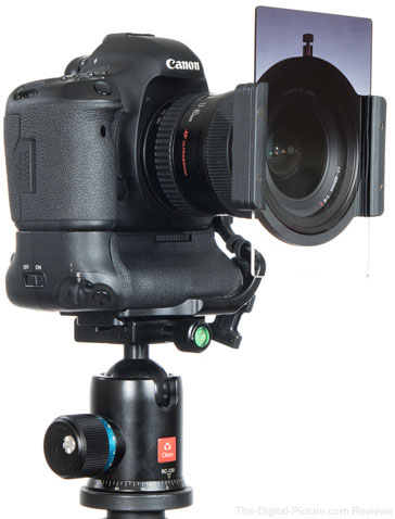 ProOptic 4X4 (100mm) Filter Holder Foundation Kit and 5D III + 17-40L
