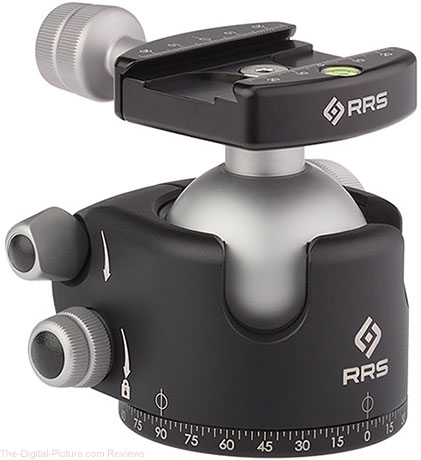 Really Right Stuff BH-55 Ball Head with Full Size Screw-Knob Clamp