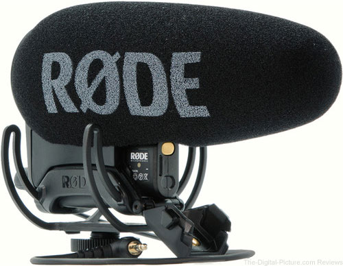 Purchase a Rode VideoMic Pro Plus, Get a $  100.00 Gift Card