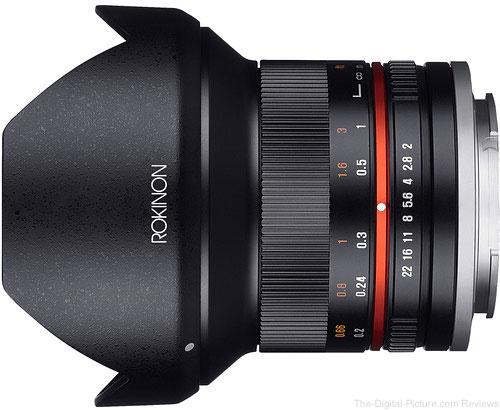 Rokinon 12mm f/2.0 NCS CS Lens for Sony E-Mount